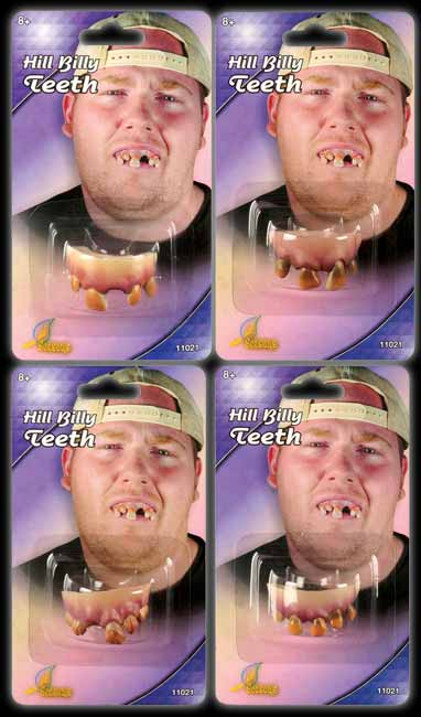 Hill Billy Character Teeth