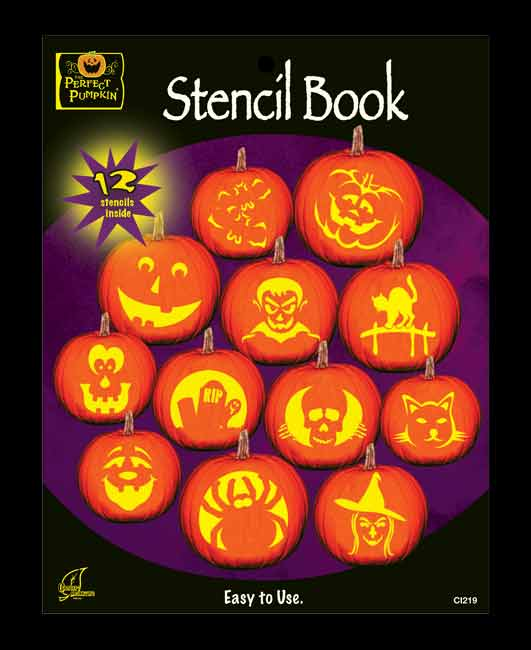 Pumpkin Carving Stencil Book