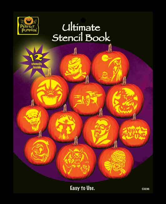 Ultimate Pumpkin Carving Stencil Book