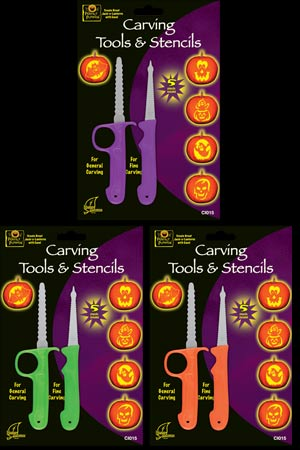Carving Tool and Stencil kit