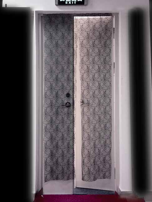 Creepy Doorway Curtain
