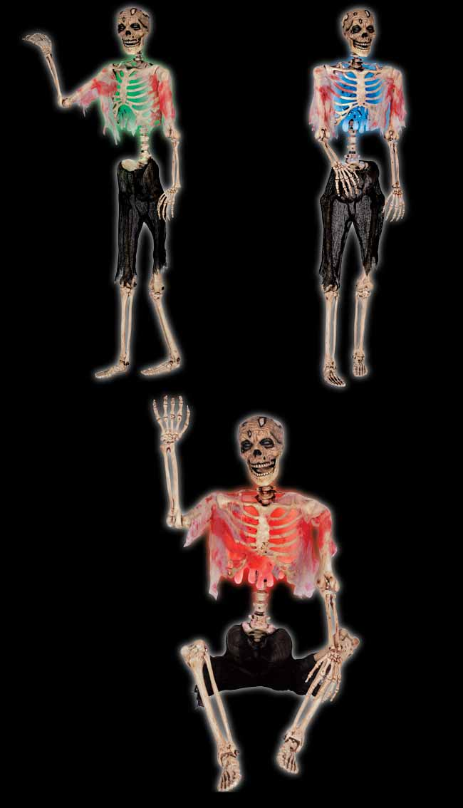 Pose N Stay Zombie Skeleton