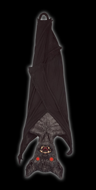 Large Hanging Bat 4'