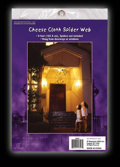 6' Spider Web