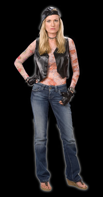 Wild Child Tattoo Costume