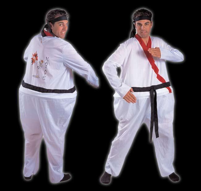 large Black Belt Costume