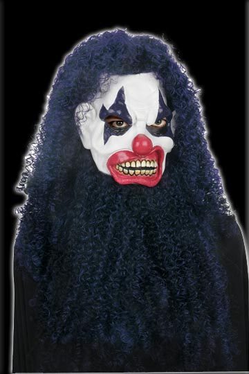Super Hair Killer Clown Mask