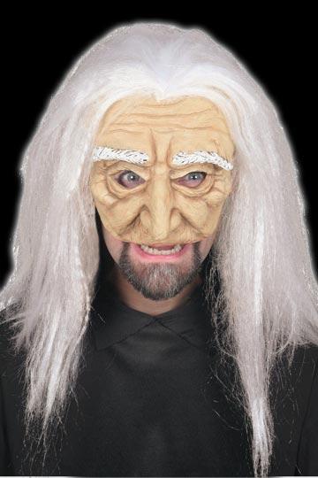 Old Man Chinless Mask