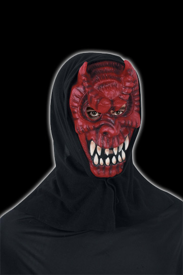 Dark Devil Hooded mask