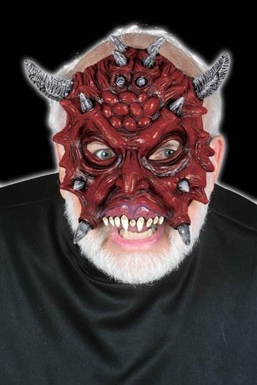 Chinless Alien Devil mask