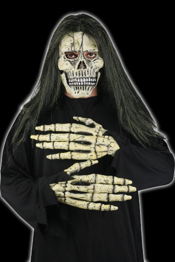 Skull Mask with Hands
