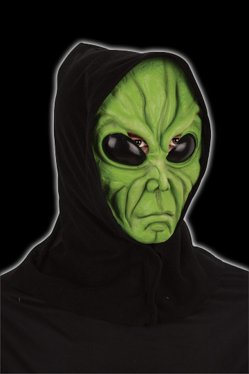 Alien Mask with Hood