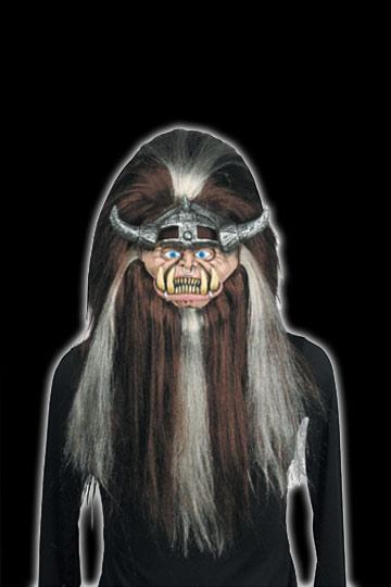 Shrunken Head Troll Mask