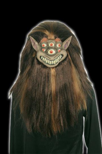 Shrunken Head Alien Mask