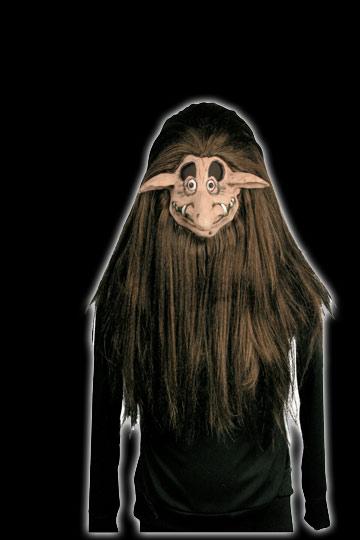 Shrunken Head Goblin Mask