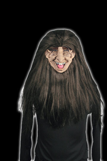 Shrunken Head Old man mask