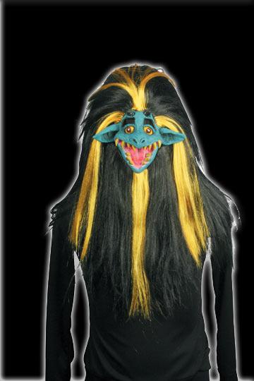Shrunken Head Creature mask