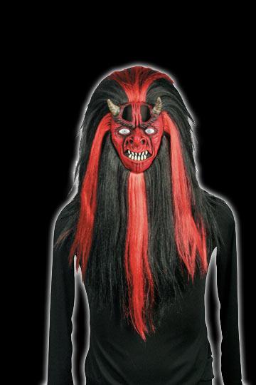 Shrunken Head Devil Mask