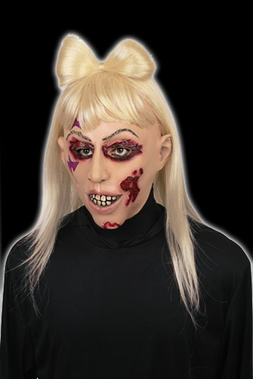 Zombie Lady singer mask