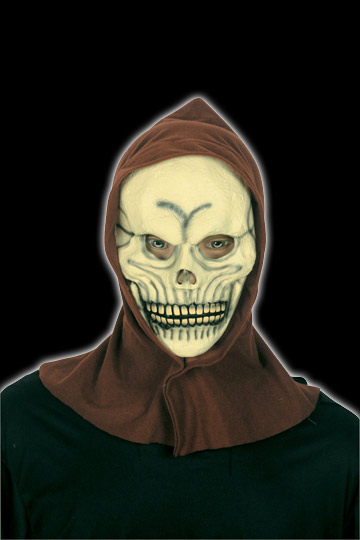 Classic Skull mask with hood