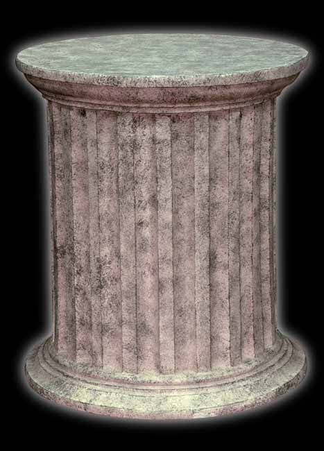 """Fiberglass Pedestal - 24"""""""