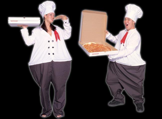 Large Chef Costume