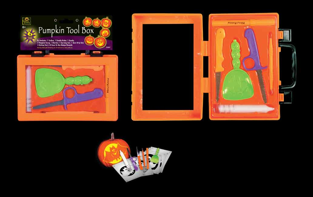 Pumpkin Tool Box