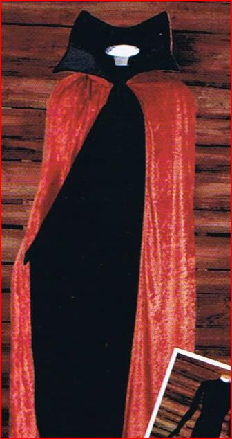 Deluxe Gothic Cape