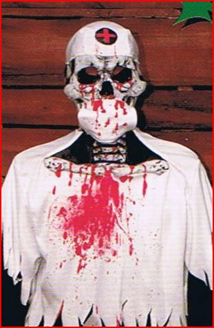Bloody Skull Doctor Costume