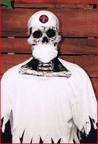 Skull Doctor Costume