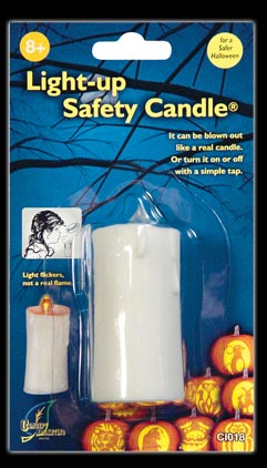 Light Up Safety Candle