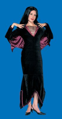 Deluxe Velveteen Vampira Costume