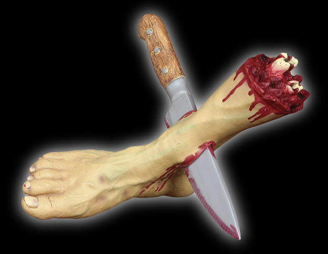 Butchered Severed Foot