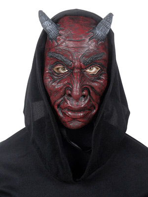 Foam latex Devil Mask