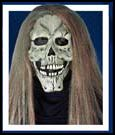 Skull Mask With Hair/Missing Teeth
