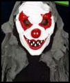 Hooded Haunted Clown Mask