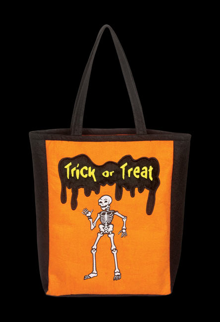 Fun Skeleton Trick Or Treat Bag