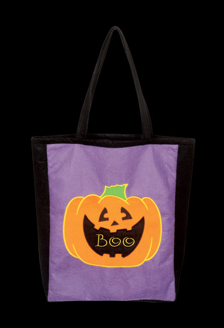 Fun Pumpkin Trick Or Treat Bag