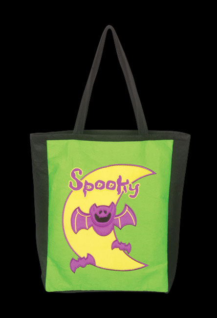 Fun Spooky Bat Trick Or Treat Bag