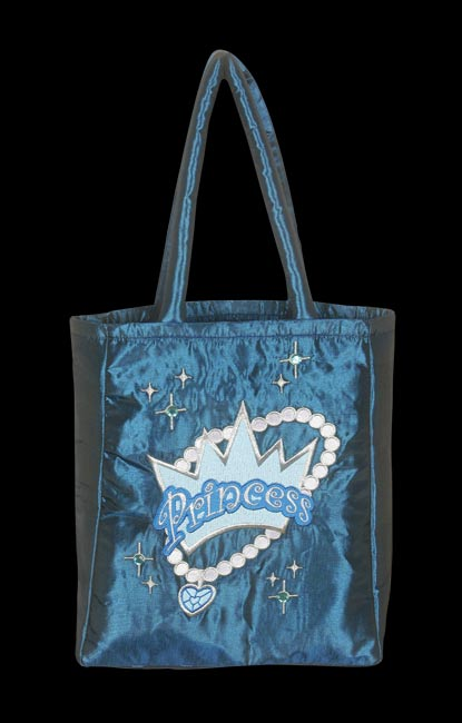 Princess Trick Or Treat Bag - Blue