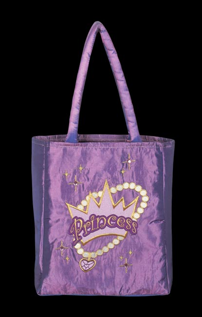 Princess Trick Or Treat Bag - Purple