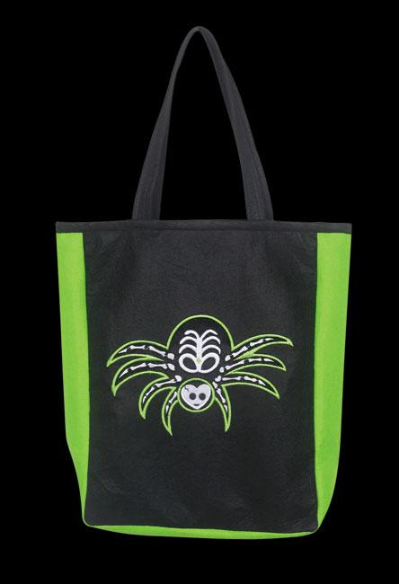 Punky Bones Spider Bag