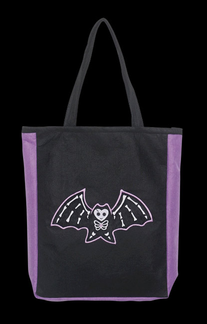 Punky Bones Bat Bag