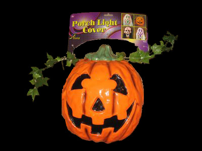 Deluxe Pumpkin Porch Light Cover