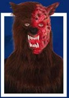 Rotten Wolf Deluxe latex Mask