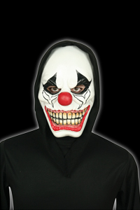 Latex Foam Clown Mask