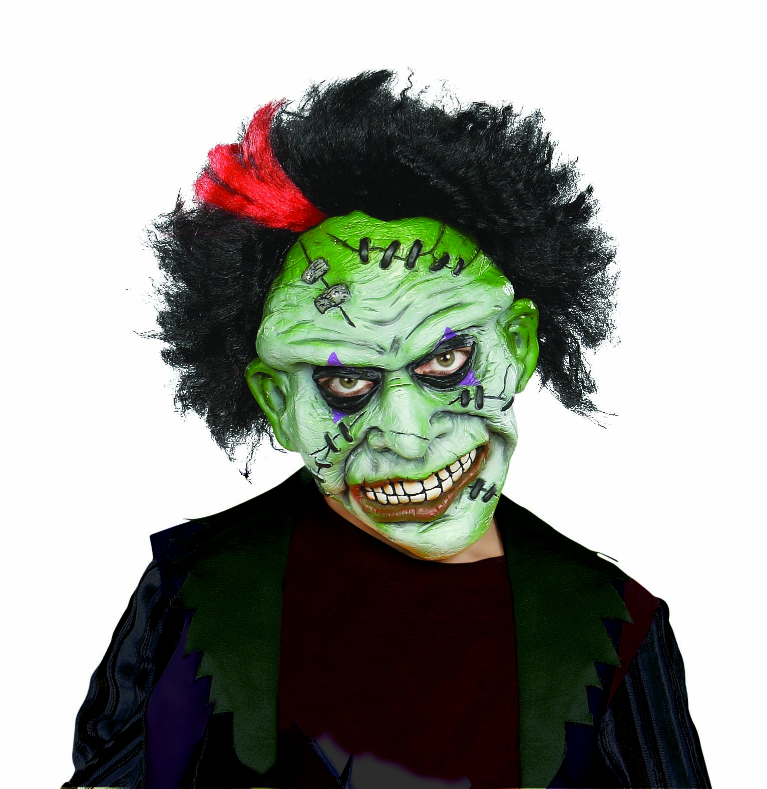 Green tinted Punk Clown with Sound
