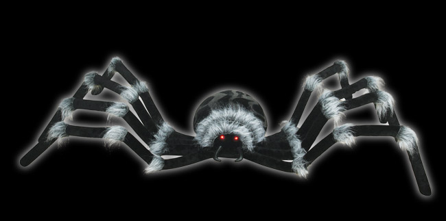 Huge Spider with Light up eyes